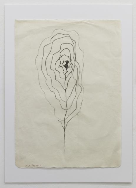 , 'BLUME,' 1952, Galerie Elisabeth & Klaus Thoman