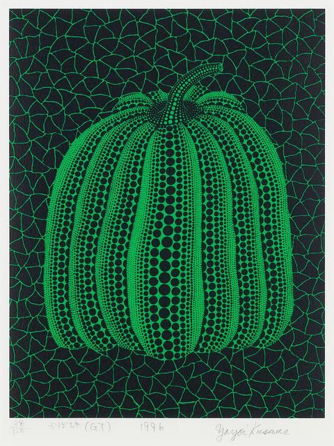 Yayoi Kusama, 'Pumpkin (GT)', 1996, Shukado Gallery