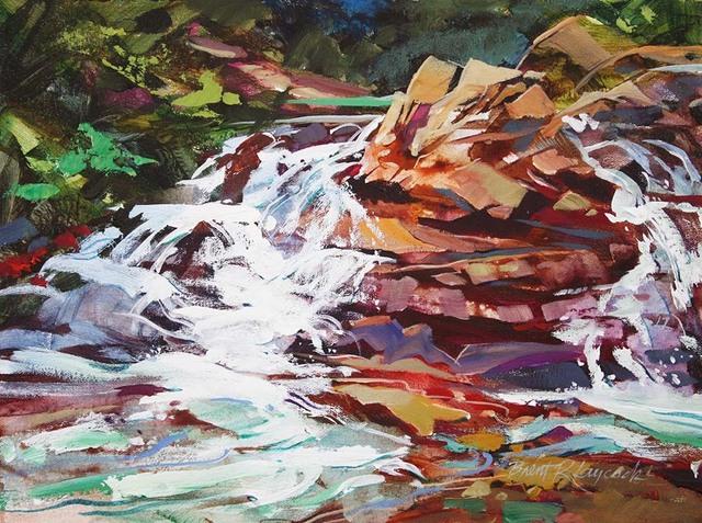 , 'Bertha Falls,' 2018, Wallace Galleries