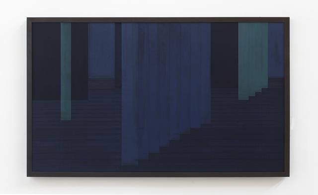 , 'Sintropic Maze - series I (Corner 1) - Blue,' 2016, Zipper Galeria