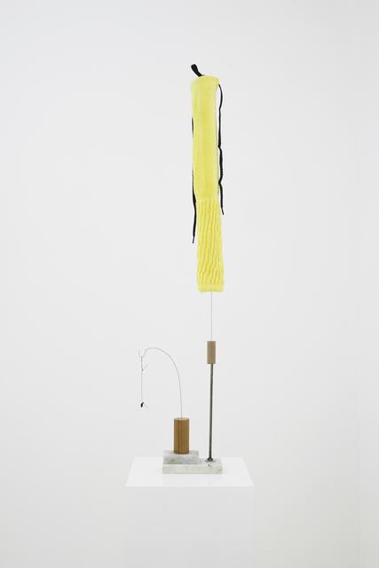 B. Wurtz, 'Untitled (yellow sock)', 2016, Maisterravalbuena