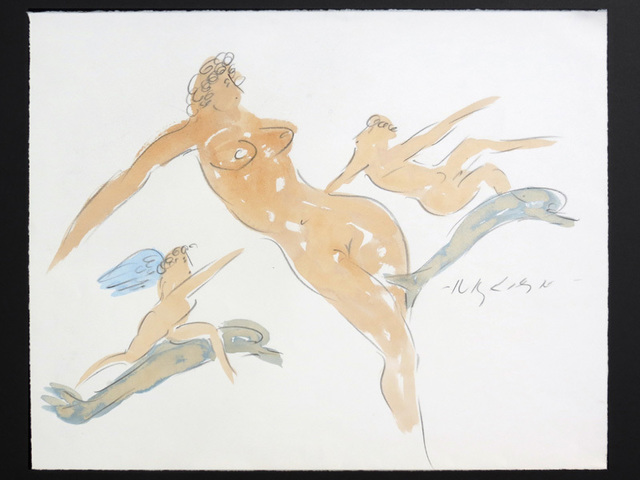 , 'Nymph with Cupids and Dolphins,' 1982-1985, Cavalier Ebanks Galleries