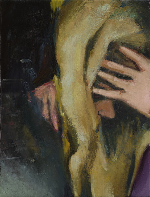 Andrius Zakarauskas, 'Blonde brushstroke', 2018, The Rooster Gallery
