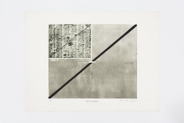 , 'Aqui é o centro n.1,' 1973, Mendes Wood DM