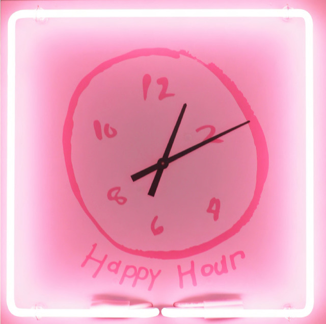 , 'Happy Hour Clock,' 2018, Leila Heller Gallery