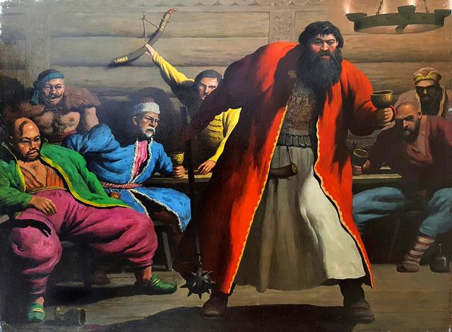 , 'Mongols,' 1945-1955, Robert Funk Fine Art