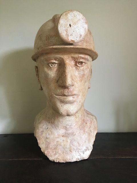 , 'Miner's Head,' , Grob Gallery
