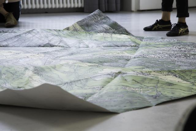, 'Le chemin de l'eau (The water path),' 2014, Musée de l'Elysée