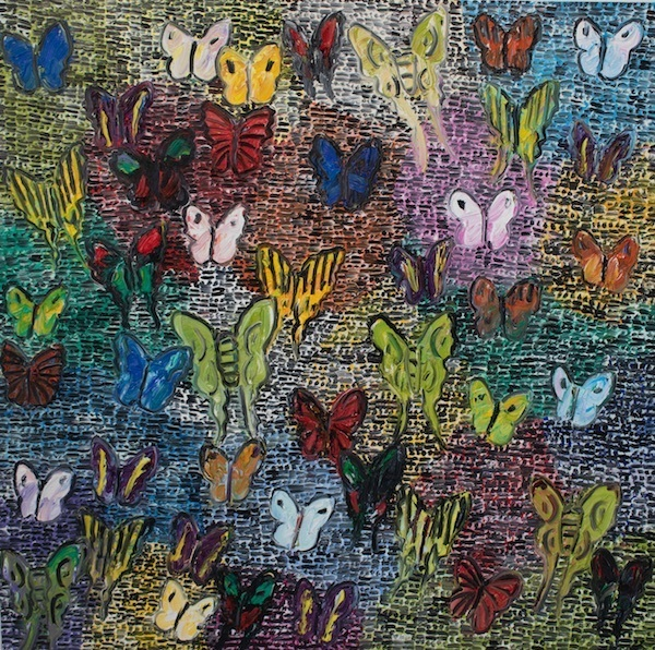 , 'Guardians & Butterflies  Saturday,' 2019, Madison Gallery