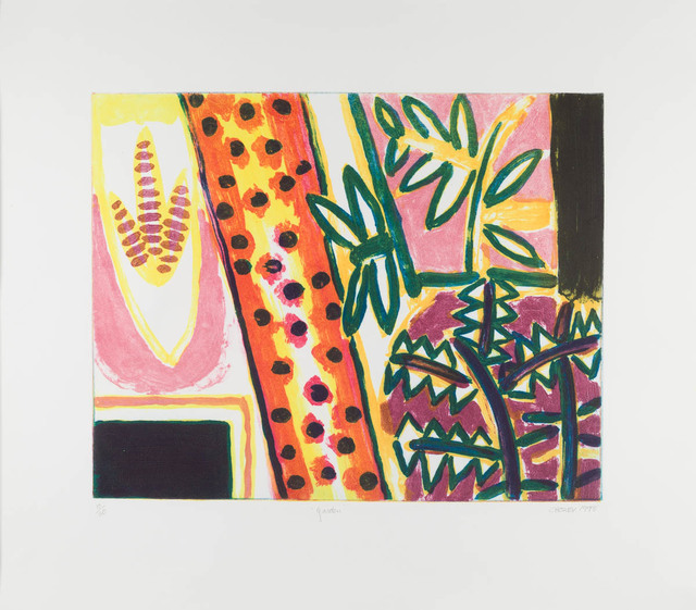 William Crozier, 'Garden', 1988, Candida Stevens Gallery