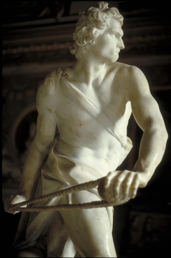 Gian Lorenzo Bernini, 'David,' 1623, Allan Kohl