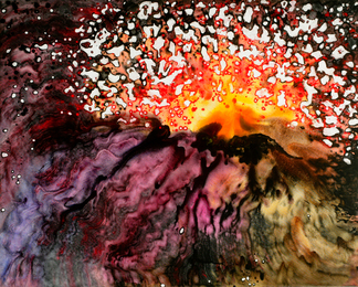 Volcano Explosion #20, Molten Lava Series