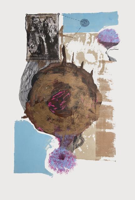 Frank David Valdés, 'Arithmetic', 2018, Painting, Mixed media on paper, ArteMorfosis - Cuban Art Platform