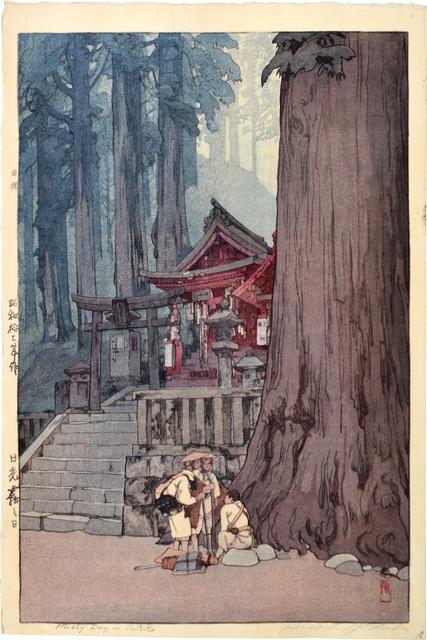 Yoshida Hiroshi, 'Misty Day in Nikko', 1937, Scholten Japanese Art