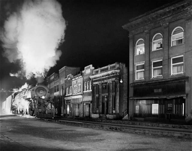 , 'Main Line on Main Street, North Fork, West Virginia,' 1958, Danziger Gallery