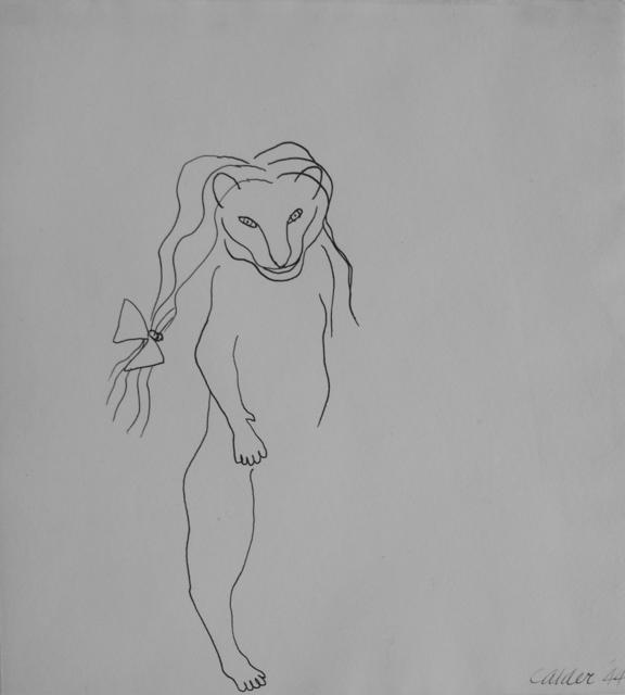 , 'Little Lioness with Hair Ribbon,' 1944, Faessler & Ochsner