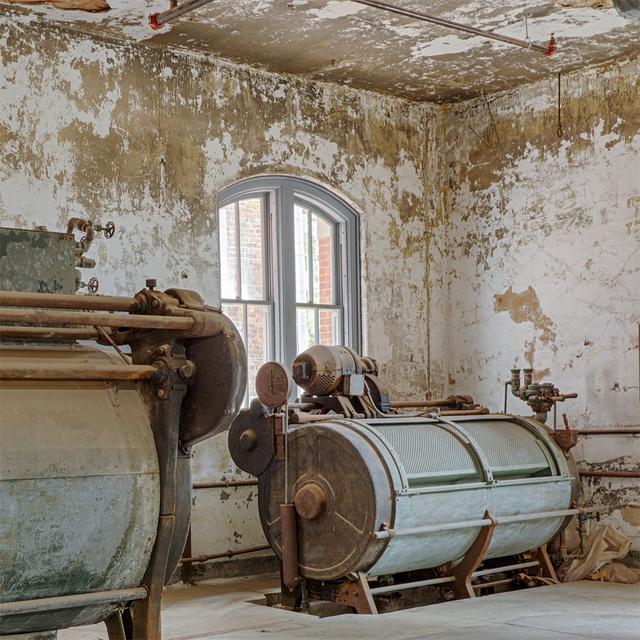 , 'Laundry Room Dryer, Ellis Island Hospital,' 2017, Soho Photo Gallery