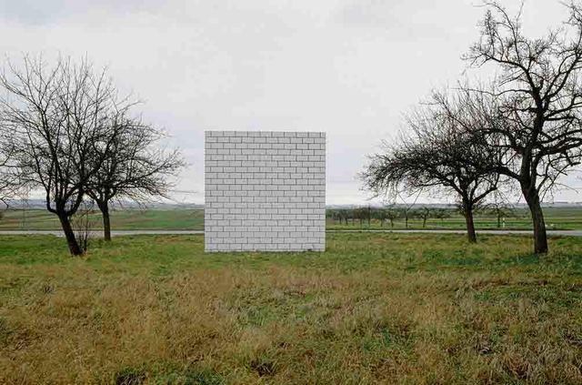 ", 'Skulpturenprojekt ""Platzverführung"", Ostfildern, Sol LeWitt,' 1992, Walter Storms Galerie"