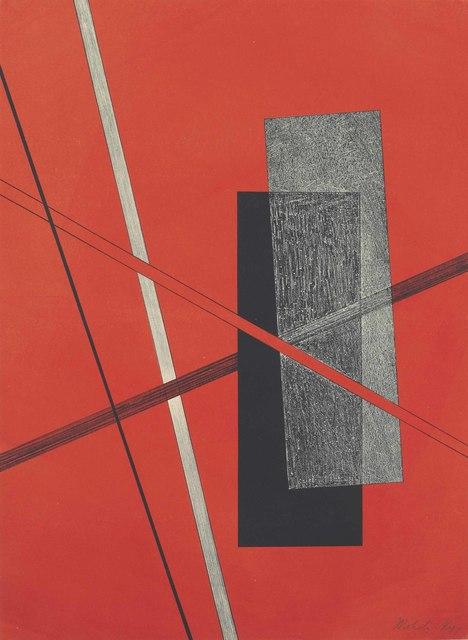 László Moholy-Nagy, 'Konstruktion IV, from Konstruktionen 6. Kestnermappe', 1923, Christie's