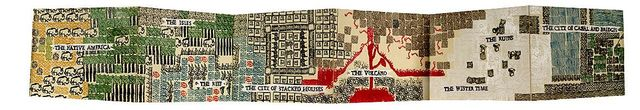 Veronica Graham, 'The Map of Neighboring Territories: Stamp Book', 2008, Kala Art Institute