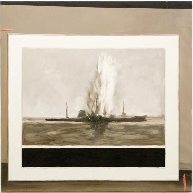 Greg Allen, 'Destroyed Richter Patientin No.8', 2016, Painting, Oil on canvas, Magdalena Sawon