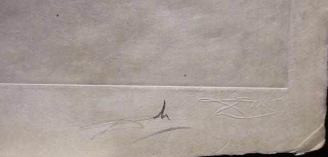 Salvador Dalí, 'Poems Secrets The Beach At Sete', 1967, Print, Etching, Fine Art Acquisitions Dali