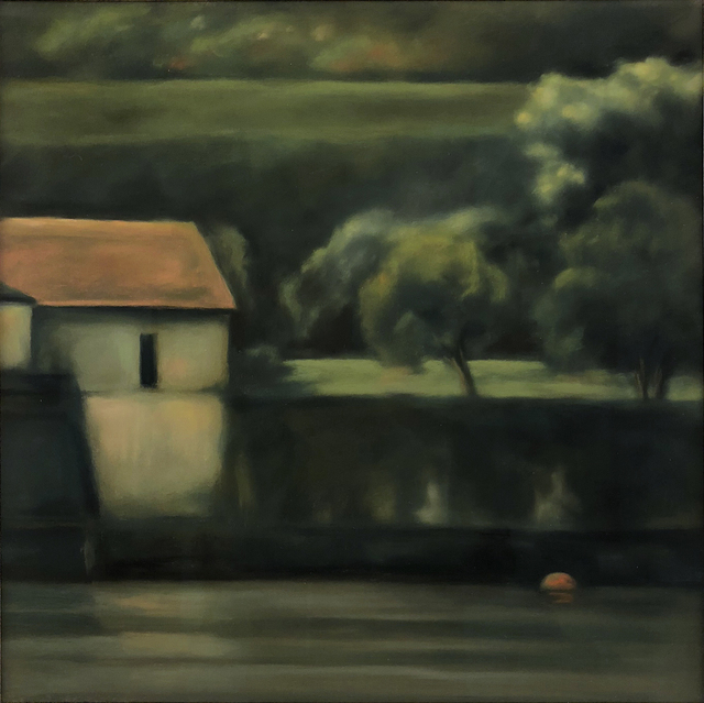 , 'Boathouse, Lake Como,' , William Baczek Fine Arts