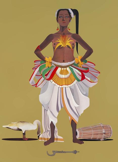 Surendran Nair, 'Alibis of the Cognates - VII', 2015, Aicon Gallery