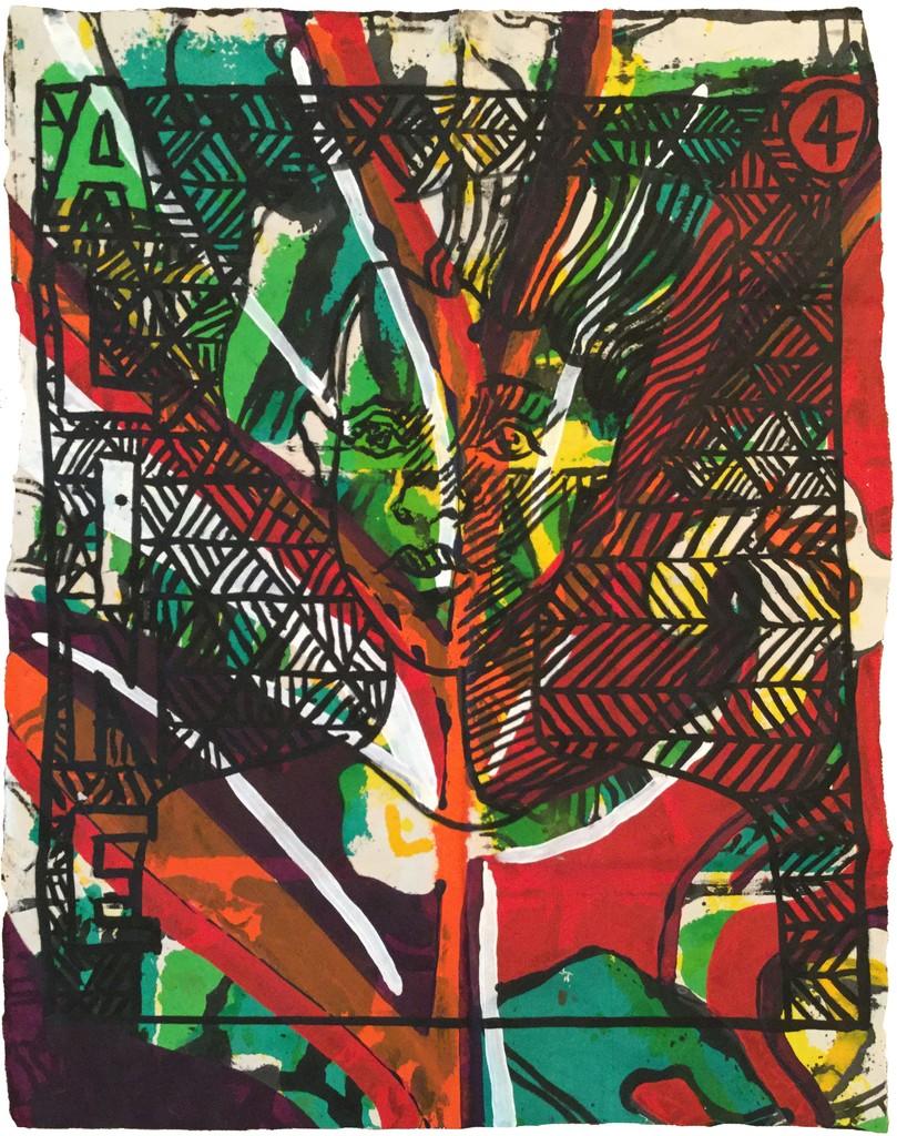 Aline (Textile Series No.4)