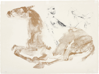 Elisabeth Frink, 'Man and Horse I,' 1971, Phillips: Evening and Day Editions