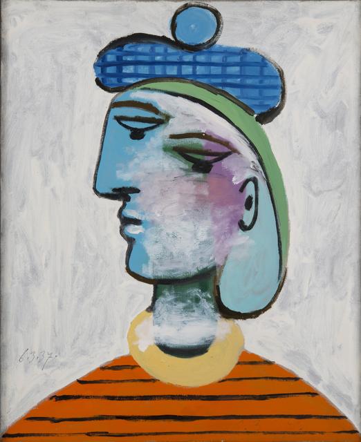 , 'Marie-Thérèse au béret bleu,' 1937, RMN Grand Palais