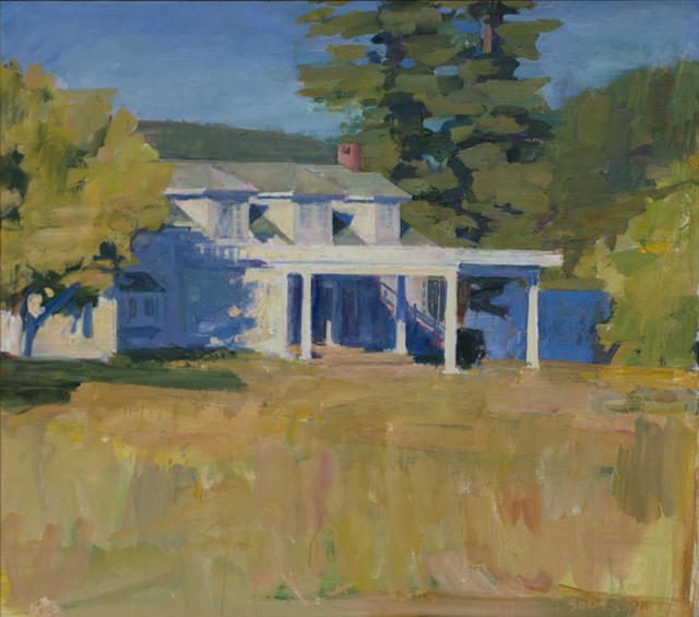 Kurt Solmssen, 'Gwen's House', 2018, Linda Hodges Gallery