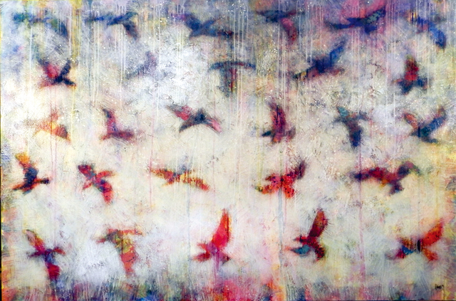 , 'Unison in Flight,' 2016, Simard Bilodeau Contemporary