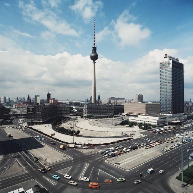 , 'Blick auf den Alexanderplatz,' 1987, CAMERA WORK