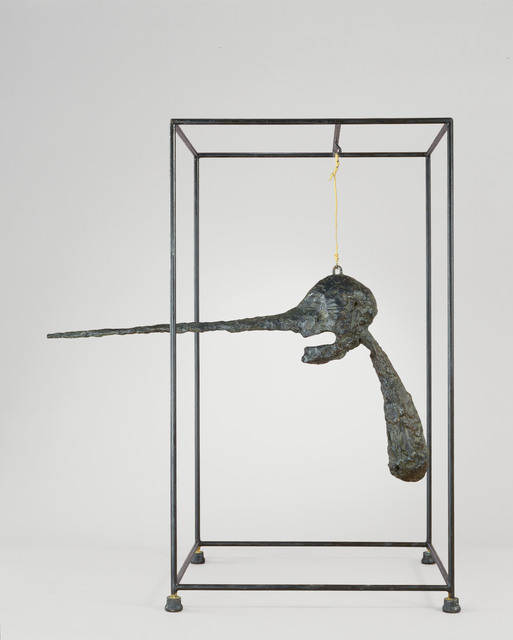 , 'The Nose,' 1947, revised 1949, cast c. 1960–65, Hirshhorn Museum and Sculpture Garden