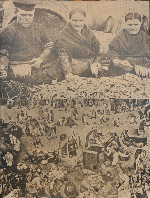 , 'Fish and People,' 1951-1967, Open Art