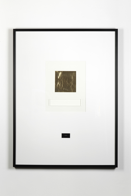 , 'Goldenis asurface colour,' 1988, Galleria Raffaella Cortese