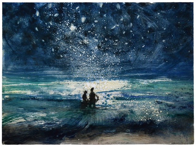 , 'Stars and Sea at Night XV,' 2016, Marlborough London