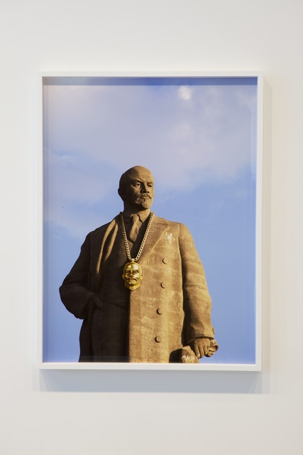 , 'Monumental Bling: Lenin East Berlin on Lenin Volgograd 2,' 2013, Jane Lombard Gallery