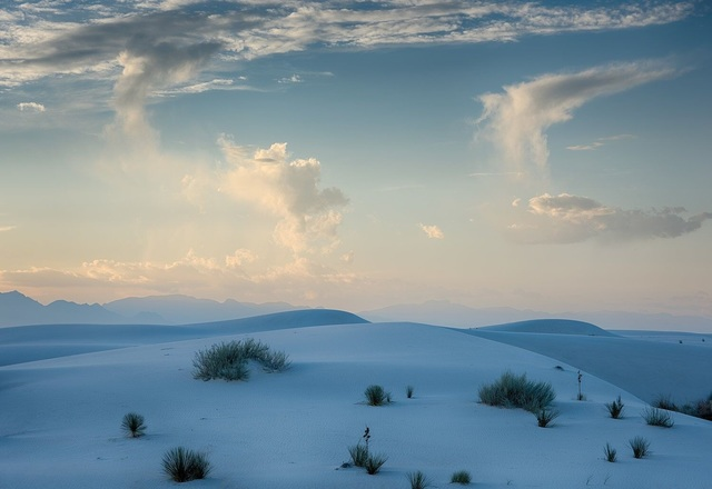 , 'Rising Clouds over Dunes, Sunset, Autumn, White Sands National Monument, New Mexico,' ca. 2016, Afterimage Gallery