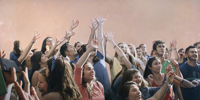 , 'Raised Hands,' 2017, Lyons Wier Gallery