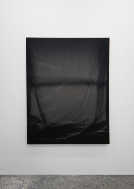 , 'Bedroom Window (Black #2) 6 Month Exposure. Summer-Winter 2013,' 2014, V1 Gallery