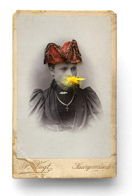 , 'Woman Eating a Canary Nº4 (red hat),' 2000-2002, Laurence Miller Gallery