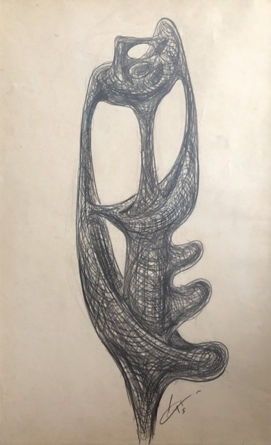 , 'PROJECT FOR A SCULPTURE,' 1955, Galerie Francesco Vangelli de'Cresci