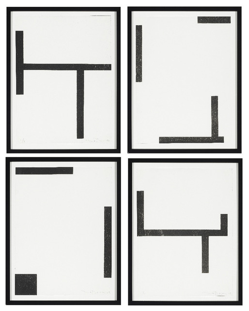 , 'Quartet Series II (set of four),' 2009, Cecilia de Torres Ltd.