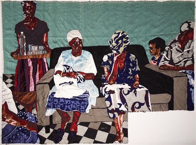 , 'mood indigo,' 2016, Afronova