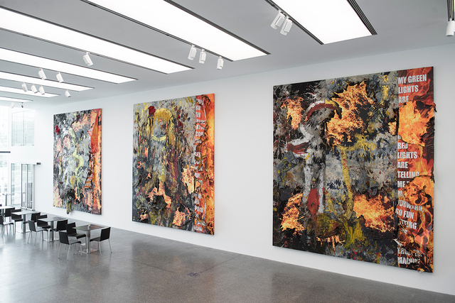 , 'History Painting (Poetry Floor 1,2,3),' 2016, Museion