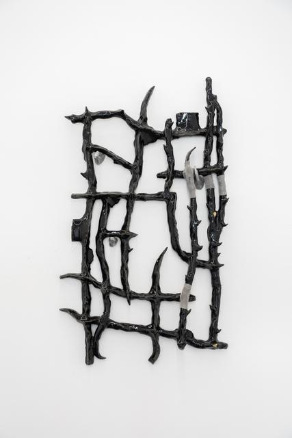 Tomás Díaz Cedeño, 'Camino con varas de huizache III', 2019, PEANA
