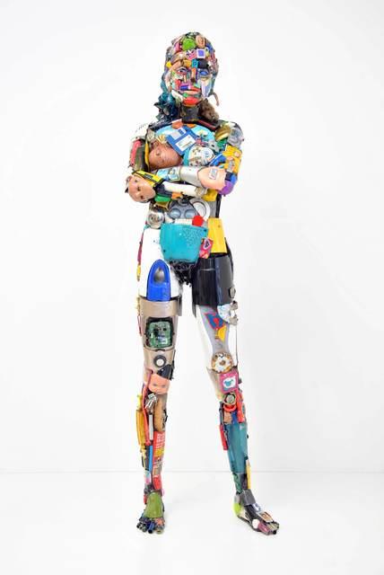 , 'Donna in piedi,' 2016, SimonBart Gallery