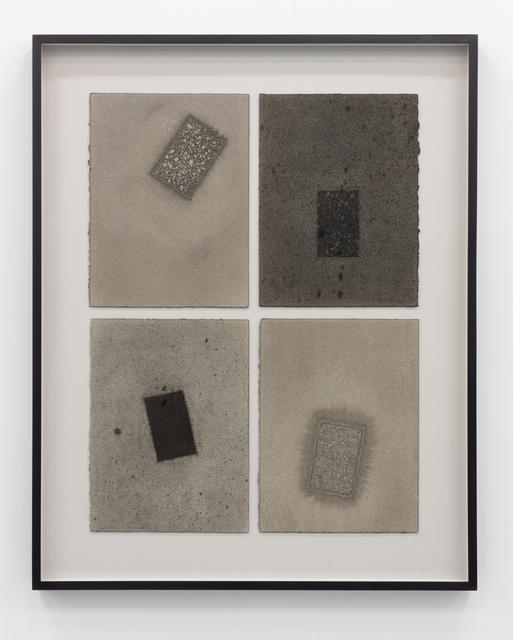 , 'Géométrie variable 4-4,' 2015, Galerie Antoine Ertaskiran